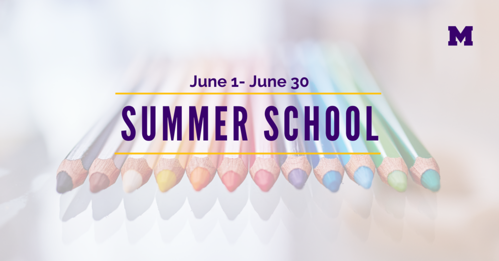Summer School Enrollment Information