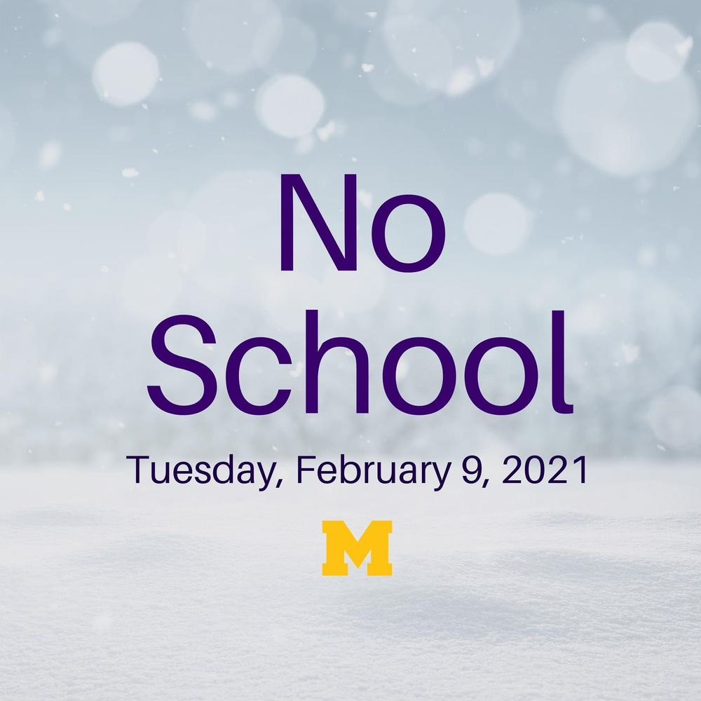 No School - Feb. 9