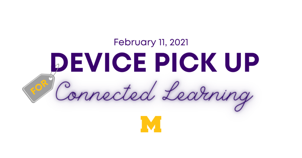 Device Pick Up for Connected Learning