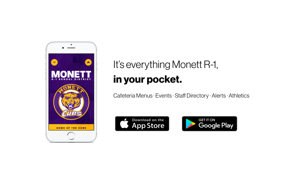 New Monett R-1 Schools App