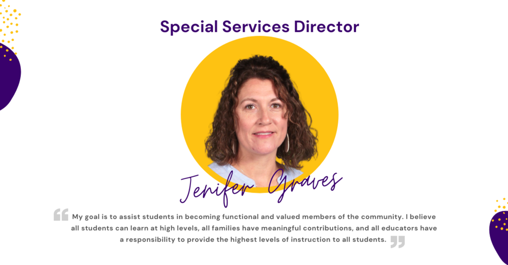 Jenifer Graves - Special Services Director
