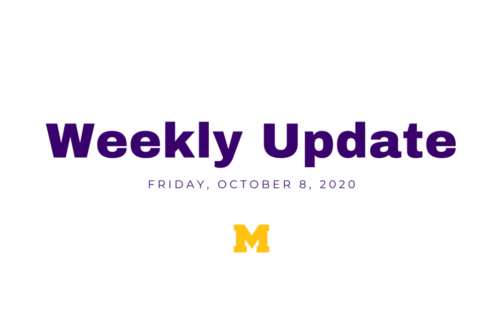 Check out our weekly updates!