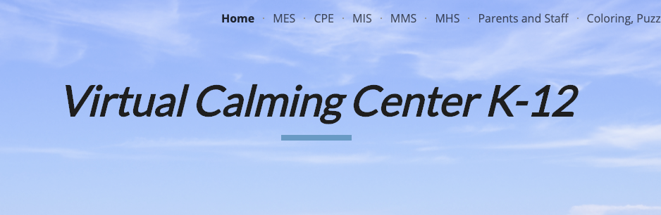 Virtual Calming Center
