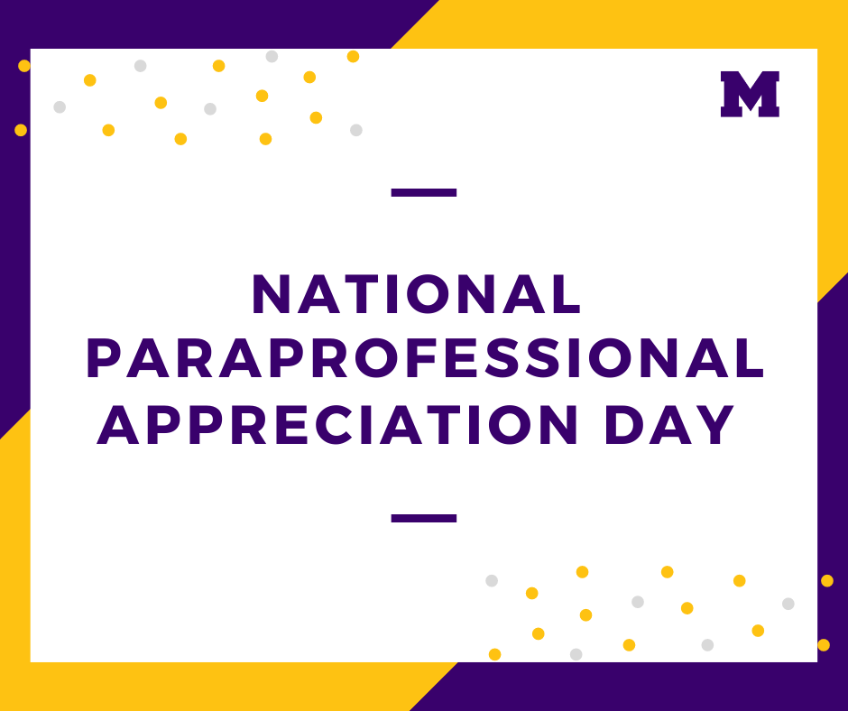 National Paraprofessional Day