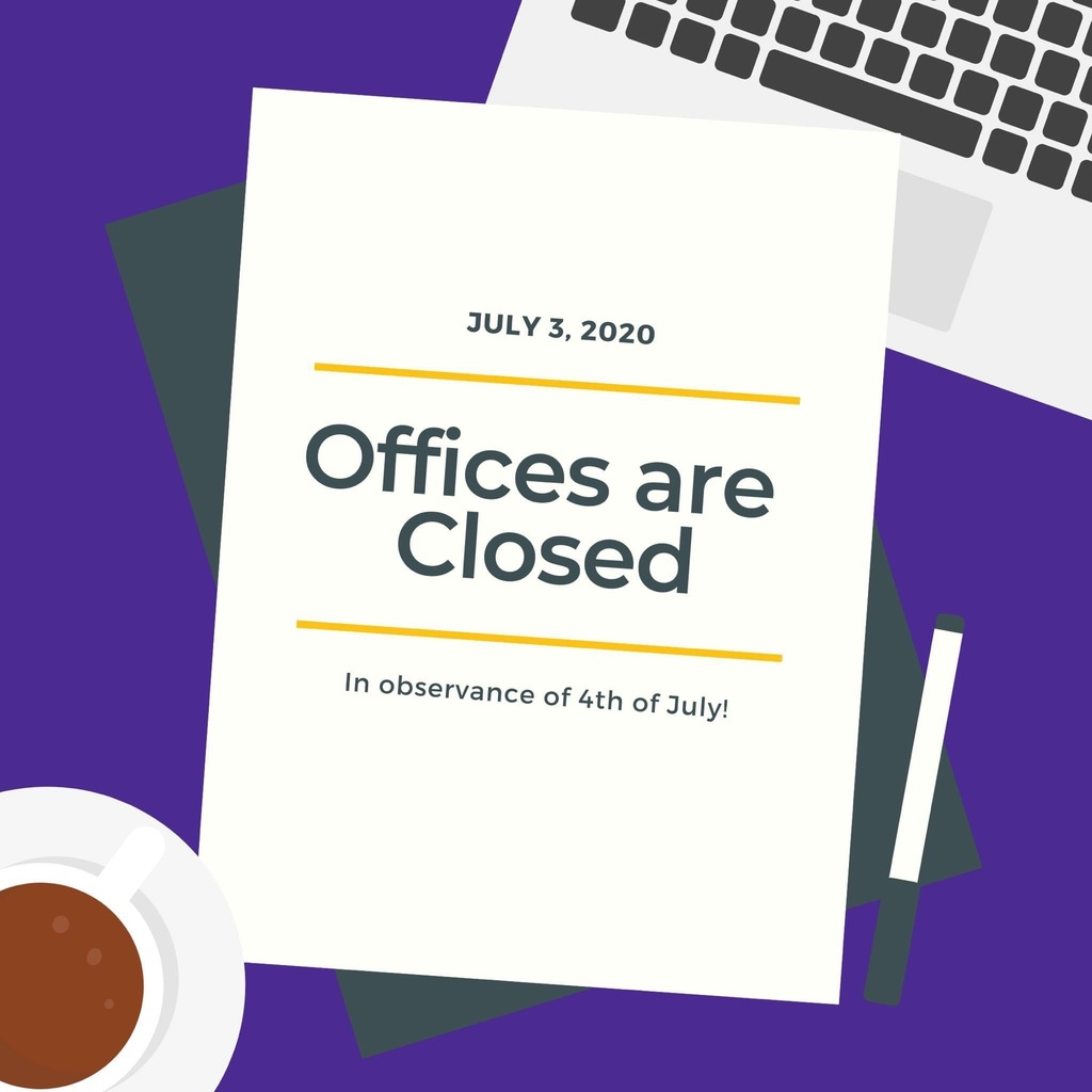 Offices are Closed